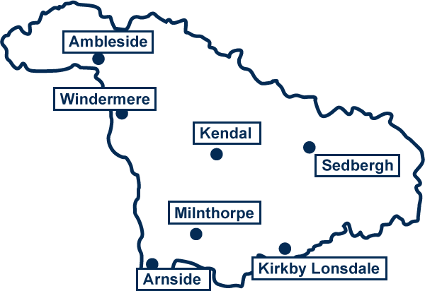 Westmorland County Map